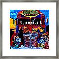 50th Anniversary Further Bus Tour Framed Print