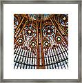Gallery Lafayette Ceiling Framed Print