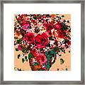 Garden Bouquet Framed Print