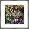 Garden Fairy Framed Print