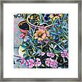 Garden Flowers Framed Print