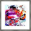 Gel Art #14 Framed Print
