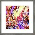 Gemstone Impressions Framed Print