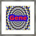 Gene Framed Print