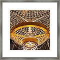 General Electric Cleveland Playhouse Chandelier Framed Print