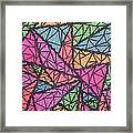Geo Painting  Framed Print