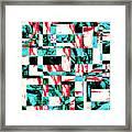 Geometric Confusion 2 Framed Print
