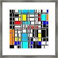 Geometrix Framed Print
