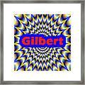 Gilbert Framed Print