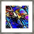 Glass Abstract 11 Framed Print