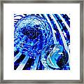 Glass Abstract 110 Framed Print