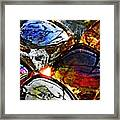 Glass Abstract 2 Framed Print