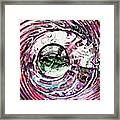 Glass Abstract 515 Framed Print