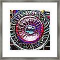 Glass Abstract 516 Framed Print