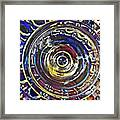 Glass Abstract 587 Framed Print