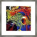 Glass Abstract 630 Framed Print