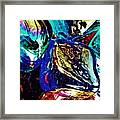 Glass Abstract 687 Framed Print