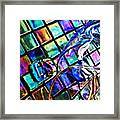 Glass Abstract 696 Framed Print