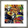 Glass Abstract Framed Print