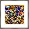 Glass Flowers Framed Print