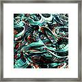 Glass Macro Iv Ce Framed Print