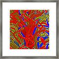 Glass Sculpture A-la Monet 2 Framed Print