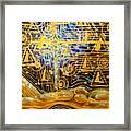 Golden Meditation Framed Print