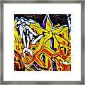 Graffiti Alley I Framed Print