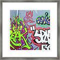 Graffiti Art 05102017a Framed Print