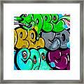 Graffiti Art Nyc 8 Framed Print