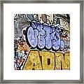 Grafitti Downunder 2 Framed Print