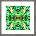 Green Leafmania 3 Framed Print