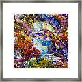 Green Space 15-18 Framed Print