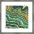 Greenscape C Framed Print