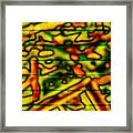 Grunge Graffiti Framed Print