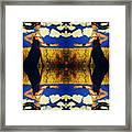 Guiar-symmetrical Art Framed Print