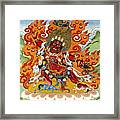 Guru Dragpo Framed Print