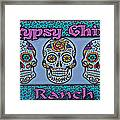Gypsy Chix Ranch Framed Print