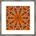 Halloween Kaleidoscope 12 Framed Print