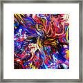 Halos And Passions. Framed Print