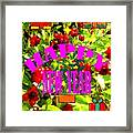 Happy New Year 6 Framed Print