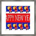 Happy New Year 7 Framed Print