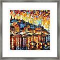 Harbor Of Corsica Framed Print