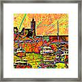 Harbour View Porthleven Cornwall Framed Print