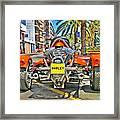 Harley Trike Framed Print