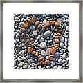 Heart Of Stones Framed Print