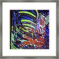 Hearts Drum 6 Framed Print