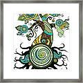 Henna Tree Of Life Framed Print