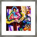Her Little Parasol Framed Print