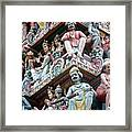 Hindu Temple Little India Singapore Framed Print